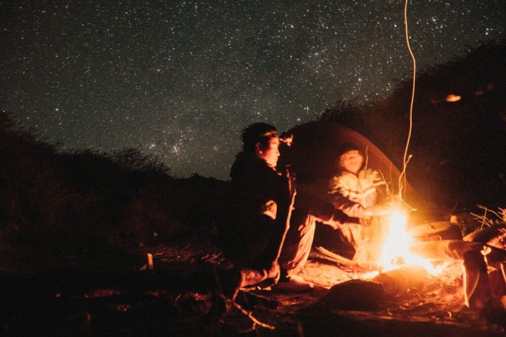 La aventura de acampar como niño